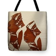 Brides Await - Tile Tote Bag
