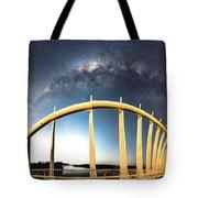 Bridge Across The Galaxy Tote Bag