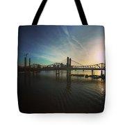 Bridge And Colors Tote Bag