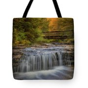 Bridge And Falls Tote Bag