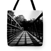 Bridge And Tunnel - B/w Tote Bag