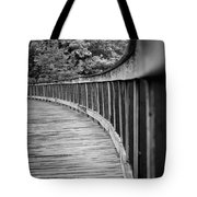 Bridge At Calloway II Tote Bag