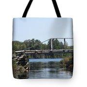 Bridge At Chub Tote Bag