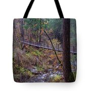 Bridge At Deer Creek Tote Bag