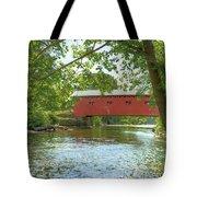 Bridge At The Green Tote Bag