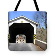 Bridge At The Mill. Tote Bag