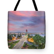 Bridge Closure Tote Bag