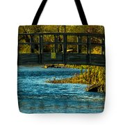 Bridge For Lovers Tote Bag