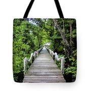 Bridge In Kosrae Tote Bag