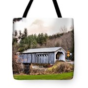 Bridge In Montgomery Tote Bag