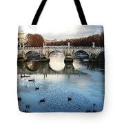 Bridge In Rome Tote Bag