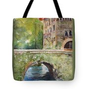 Bridge In Spain Tote Bag