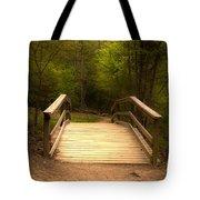 Bridge In The Woods Tote Bag