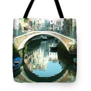 Bridge In Venice Tote Bag