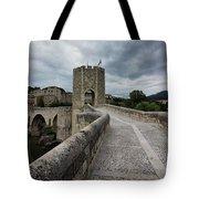 Bridge Of Besalu, Girona Provence, Catalonia, Spain-2 Tote Bag