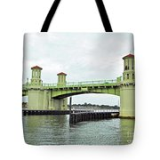 Bridge Of Lions From The Water Tote Bag