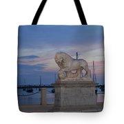 Bridge Of Lions Tote Bag