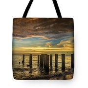 Bridge Of The Past Tote Bag