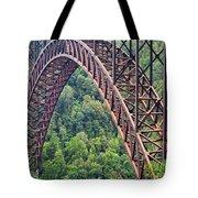 Bridge Of Trees Tote Bag