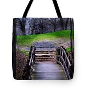 Bridge On The Trail Tote Bag