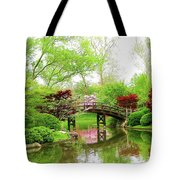 Bridge Over Calm Waters Tote Bag
