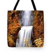 Bridge Over Cascading Waters Tote Bag
