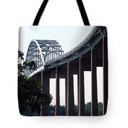 Bridge Over Delaware Chesapeake Canal Tote Bag