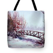 Snowy Span Tote Bag