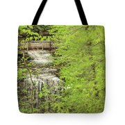 Bridge Over Little Clifty Falls Tote Bag