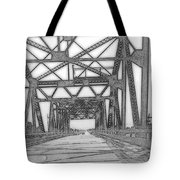 Bridge Over Mississippi Tote Bag