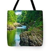 Bridge Over Quechee Gorge-vermont  Tote Bag