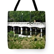 Bridge Over Silver Lake - Rehoboth Beach Delaware Tote Bag
