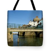 Bridge Over Staithes Beck Tote Bag