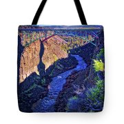Bridge Over The Crooked River Gorge Tote Bag