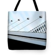 Bridge Over The Danube Tote Bag