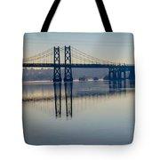 Bridge Over The Mississippi Tote Bag