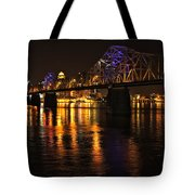 Bridge Over The Ohio Tote Bag