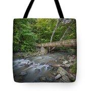 Bridge Over The Pike River Tote Bag