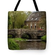 Bridge Over The River Clun Tote Bag