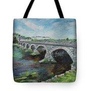 Bridge Over The River Laune, Killorglin Ireland Tote Bag
