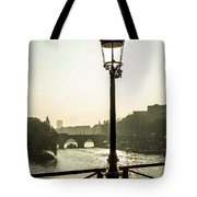 Bridge Over The Seine. Paris. France. Europe. Tote Bag