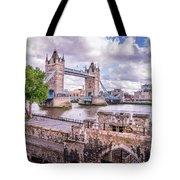 Bridge Over The Thames Tote Bag