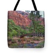 Bridge Over The Virgin River Tote Bag