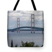 Bridge Over The Water Tote Bag