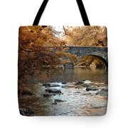 Bridge Over The Wissahickon At Valley Green Tote Bag