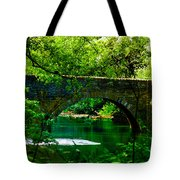 Bridge Over The Wissahickon Tote Bag by Bill Cannon