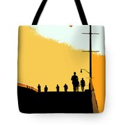 Bridge People Tote Bag