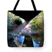 Bridge Puzzle Tote Bag