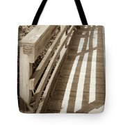 Bridge Railing Tote Bag