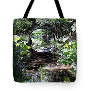 Bridge Reflection At Blarney Caste Ireland Tote Bag